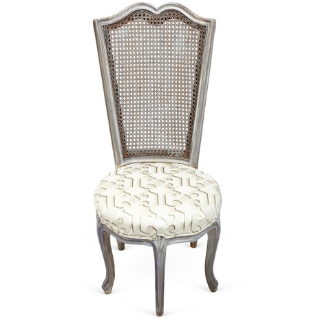 Dedar Milano Upholstered Cane Chair by Tiger Lily's