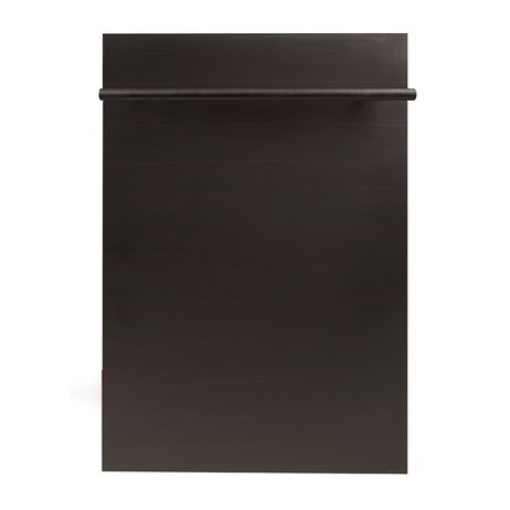 18 in. Top Control Dishwasher in Oil-Rubbed Bronze by ZLINE Kitchen and Bath