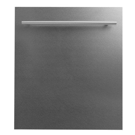 24 in. Top Control Dishwasher in Snow Finished Stainless Steel  by ZLINE Kitchen and Bath