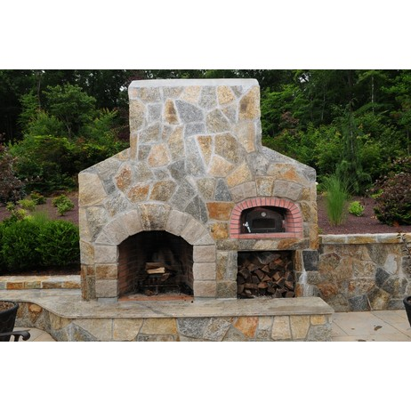 Outdoor Fireplace w/ Pizza oven by Preferred Properties Lsc, inc