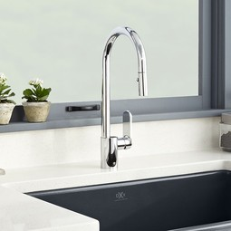 Isle Pull-Down Kitchen Faucet by DXV