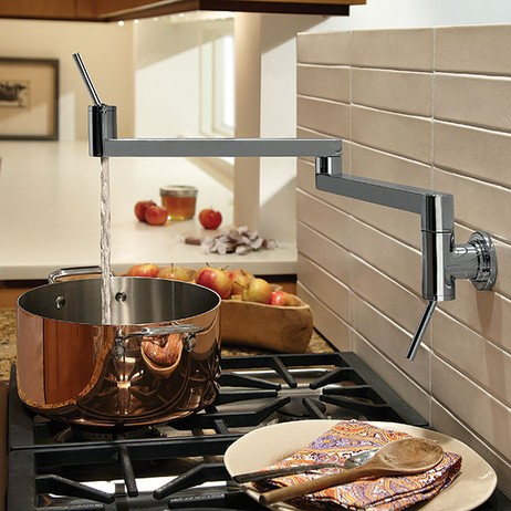 Contemporary Pot Filler by DXV