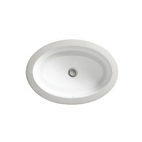 Pop Petite Oval Under Counter Bathroom SInk by DXV