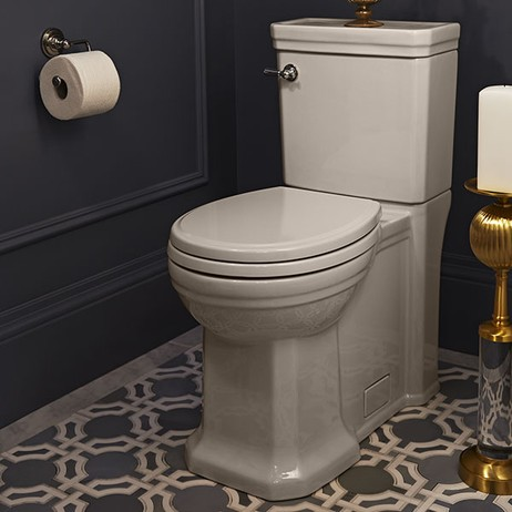 Fitzgerald Two-Piece Elongated Toilet by DXV