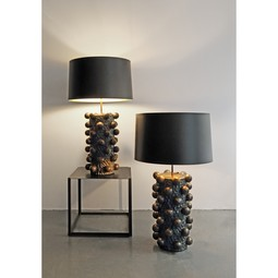 lamp bases and lighting by Cocobolo Ceramic Art & Design