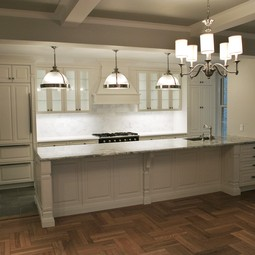 Beautiful Prewar Kitchen Transformation by Paula McDonald Design Build & Interiors