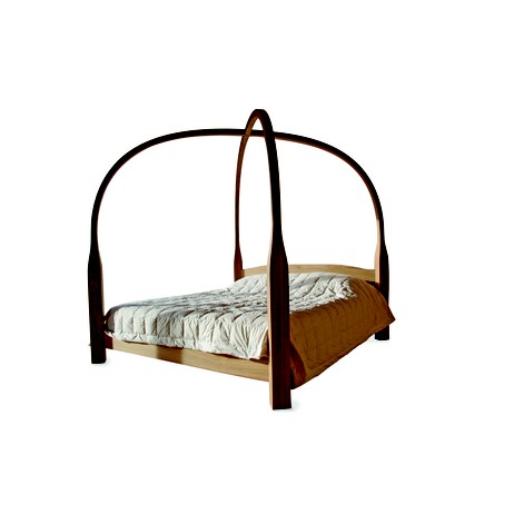 Four Poster Bed by David Trubridge