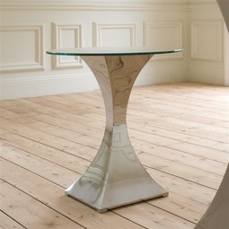 Capricorn Round Lamp Table by Tom Faulkner