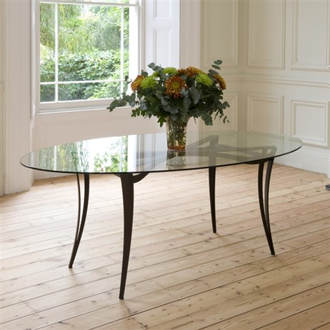Liberty Oval Dining Table by Tom Faulkner