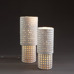 C mesh lamp - Scott Daniel by KARKULA