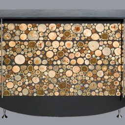 End Grain Chest of Drawers by AMOURETTE / Antoine Schapira