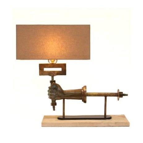 BRONZE ARM LAMP by Bliss Studio