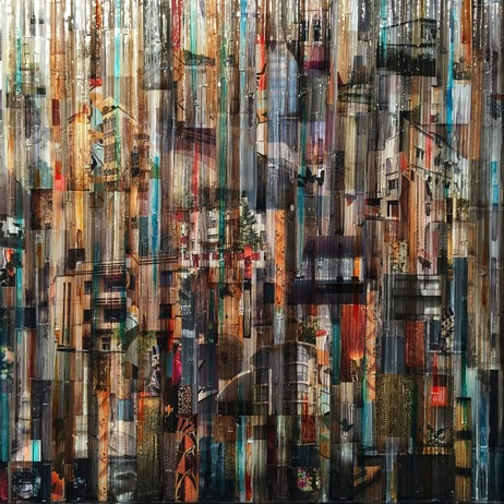 Fine Art,Glass and mixed media by Madonna Phillips