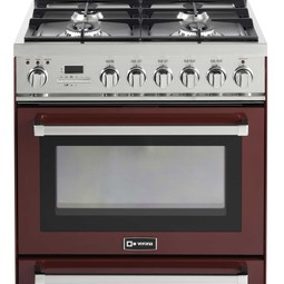 "30"" Self-Cleaning Dual Fuel Range by Verona Appliances"