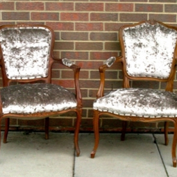 20thC Louis Side Chairs  by The Original Sofa Co.