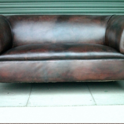 Victorian Leather Chesterfield by The Original Sofa Co.