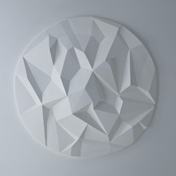 Cubist Ceiling Rose by Solomon and Wu