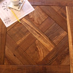 Confident Voyage, Reclaimed Oak by Manhattan Forest Products, Inc.