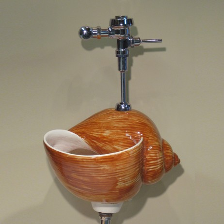 Snail Shell Urinal by Clarkmade