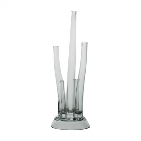 Joke Mix Clear Vase by Jung Lee NY