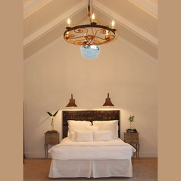 IRON CHANDELIERS by Bevolo Gas & Electric Lights