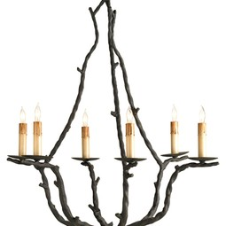 Soothsayer Chandelier by Currey & Company