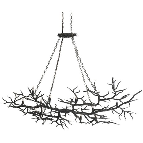 Rainforest Chandelier by Currey & Company