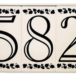 Open Classic Series Tile by EVERLITE Illuminated House Numbers