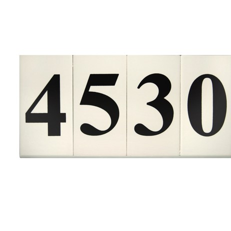 Tuxedo Series Tile by EVERLITE Illuminated House Numbers