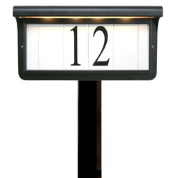 Solar Series by EVERLITE Illuminated House Numbers