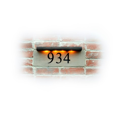 Stone Block Series by EVERLITE Illuminated House Numbers