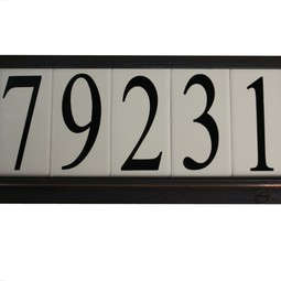 Estate Special Series Grecian Bronz by EVERLITE Illuminated House Numbers