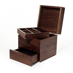 Cube Jewelry Box by Rexhill