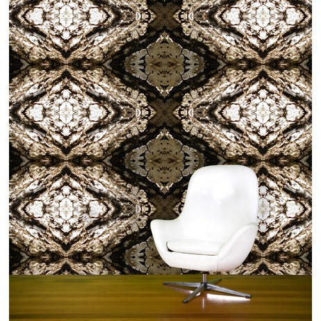Mexican Tile Bark by EDGE Wallcoverings