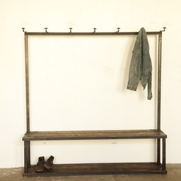 Coatrack Bench by Strawser & Smith, Inc.