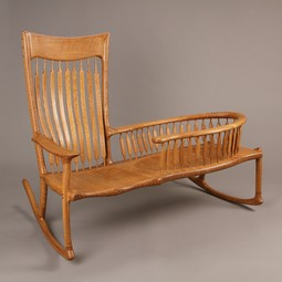 Nanny Rocker by Laron Algren Woodworking