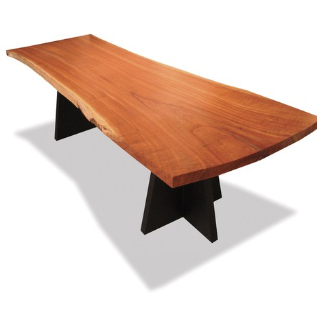 Live Edge Luca Dining Table by Costantini Design