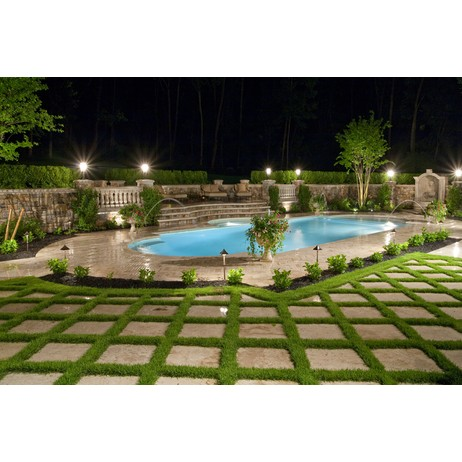 5-Star Outdoor Oasis Pool/Spa by D'Alessio Inspired Architectural Designs