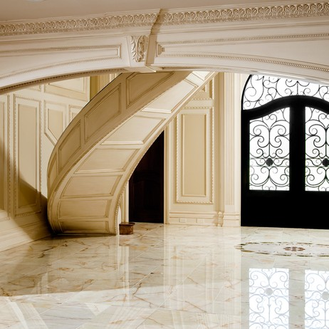 Luxurous Foyer by D'Alessio Inspired Architectural Designs