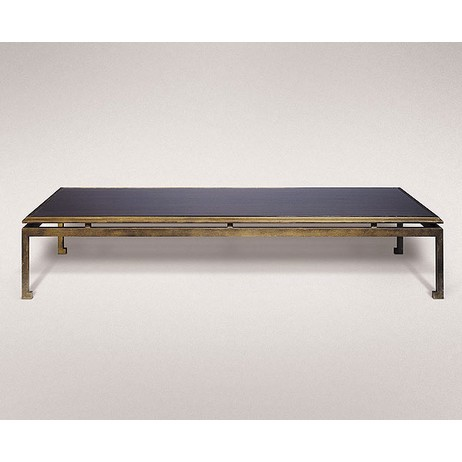 MODERNE GILDED IRON LOW TABLE by Studiolo