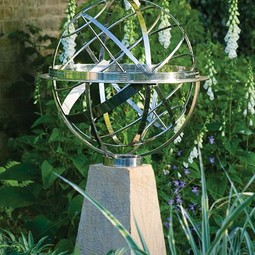Armillary Sundial by David Harber