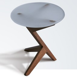 Tripod End Table by City Joinery
