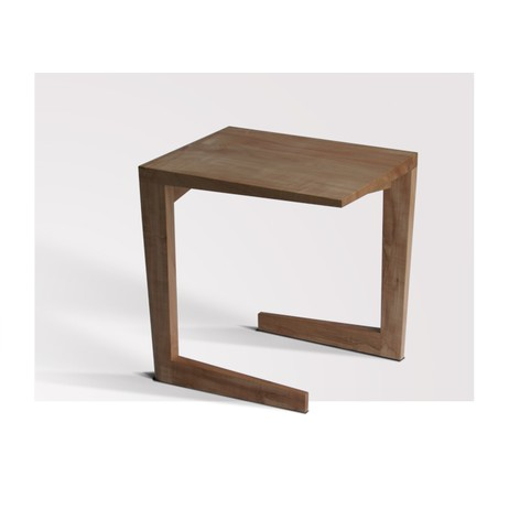 Cross Corner End Table by City Joinery