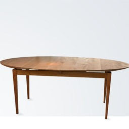 Lifted Elliptical Dining Table by City Joinery