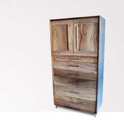 Clad Tall Dresser by City Joinery