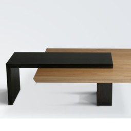 Hanging Slab Table by City Joinery