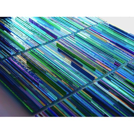 Dichroic Weave by Michael Curry Mosaics