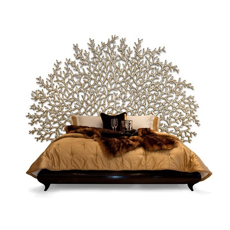 Handcarved Headboard by Christopher Guy