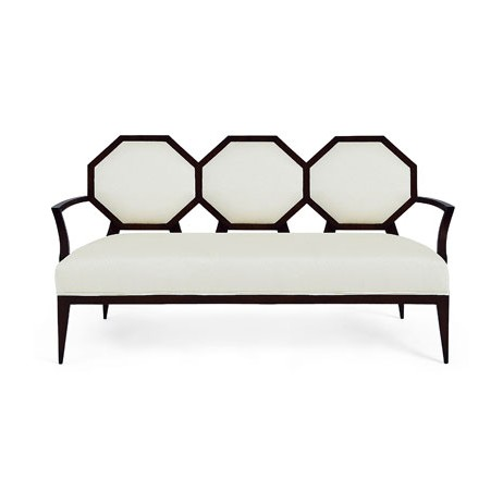 Octagonal Back Sofa by Christopher Guy