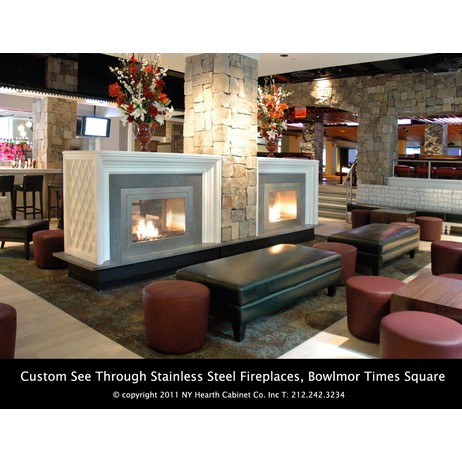 Custom Ventless Fireplaces by Hearth Cabinet